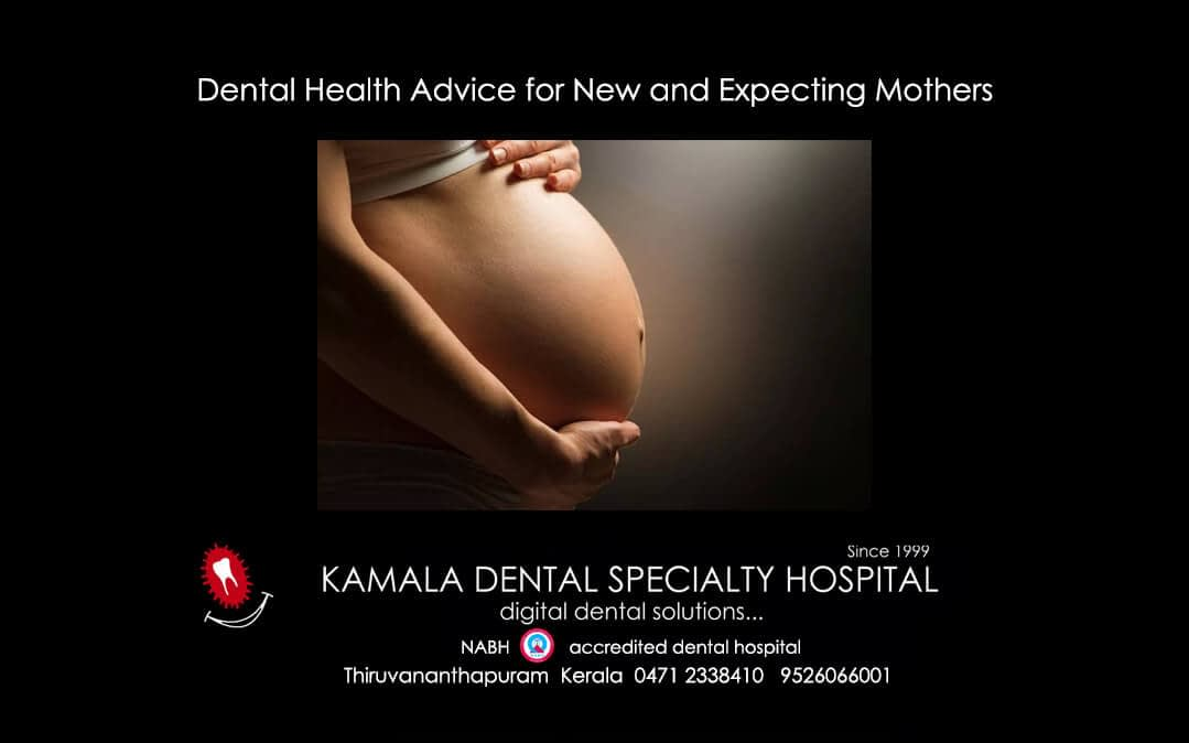 Dental Health Advice for new and expecting mothers