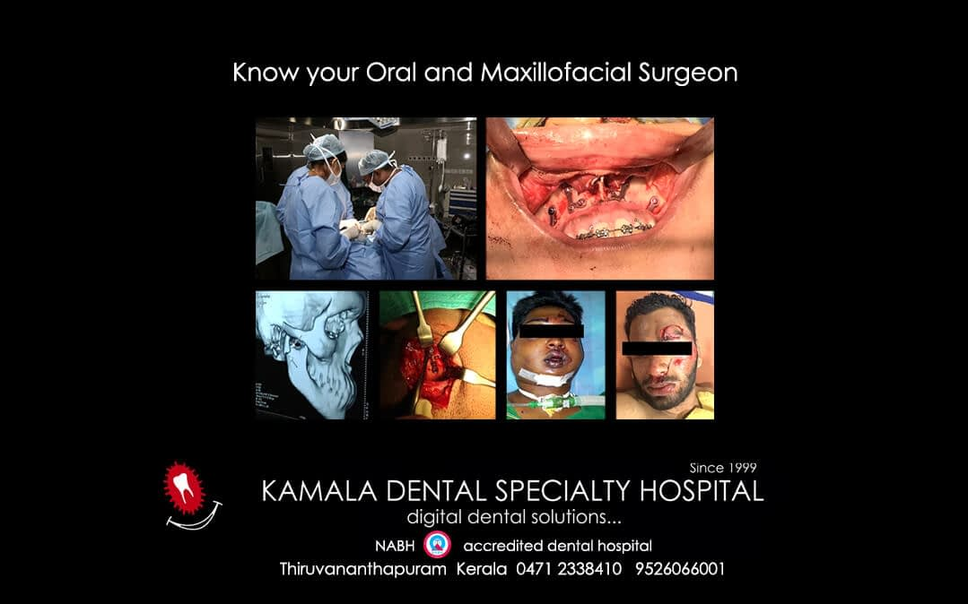 Know your Oral and Maxillofacial Surgeon